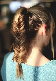 Easy Ponytail Hairstyles For Medium Length Hair
