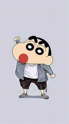 Wallpaper Iphone Cool Wallpapers Shin Chan