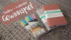 der gute plan gewinnspiel tombow brush pen ein guter plan kalender