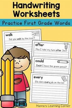 handwriting worksheets for graders 21889 handwriting worksheets for dolch grade words handwriting worksheets for