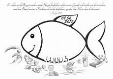 Malvorlage Fisch Taufe Pin Auf Tischdeko