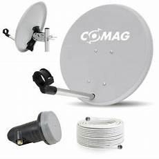digitale cing sat anlage spiegel 40cm lnb kabel antenne