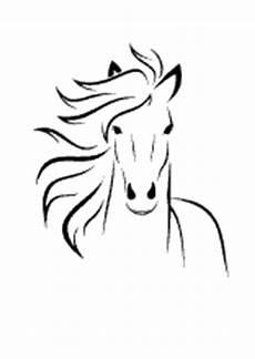 ausmalbilder pferde leicht malvorlagen pferde und ponys stute und fohlen esel