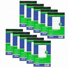 10 pieces 2 part carbonless sales order books receipt form invoice 50 new walmart com