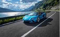 Lamborghini Aventador Roadster Wallpaper lamborghini aventador s roadster 2018 wallpapers hd