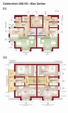 Moderne Doppelhäuser Grundrisse - 20 besten grundriss doppelhaush 228 lfte bilder auf