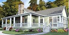 house plans with porches one story one story house plan with wrap around porch 86229hh
