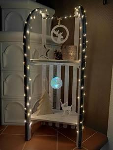 vintage schlitten weihnachtlich dekoriert diy