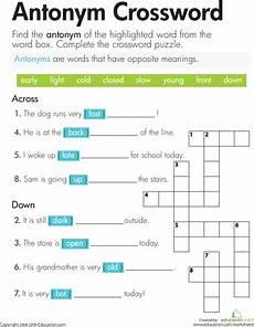 solving crosswords education com
