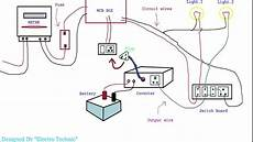 home inverter wiring diagram inverter ki wiring kaise karte hain
