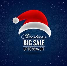 merry christmas santa hat vector merry christmas santa hat big sale background vector premium vector