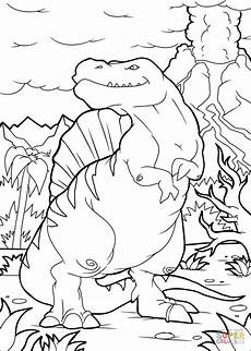 Ausmalbilder Dinosaurier Spinosaurus Ausmalbild Spinosaurus Dino Ausmalbilder Kostenlos Zum