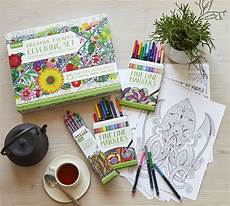 adult coloring gift set creative escapes coloring set large gift set crayola