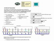 thermostat wiring diagram 44377 replacement thermostat wiring