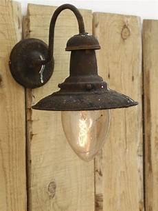 single industrial style wall light