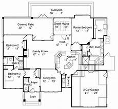 Free Kitchen Floor Plans Exles by Country One Story House Plan