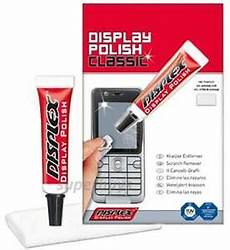 Display Riss Versiegeln - displex mobile phone scratch removal remove plastic