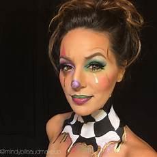 clown frau schminken clown makeup instagram mindybilleaudmakeup