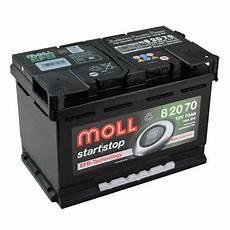 autobatterie golf 6 moll start stop efb autobatterie 70ah volkswagen golf 7