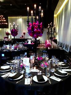 use black in wedding wedding centerpieces wedding wedding decorations purple wedding
