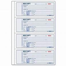 rent receipt book rediform rent receipt book quickship com