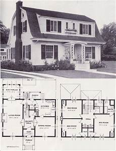 dutch gambrel house plans 1920s vintage home plans dutch colonial revival the
