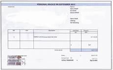 contoh surat tagihan invoice yang baik dan benar contoh surat