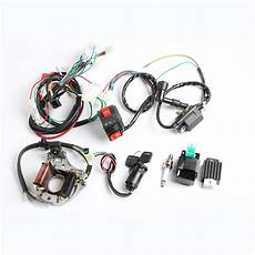 Wiring Harnes 50cc Ebay by 50cc 110cc Cdi Wire Harness Stator Assembly Wiring Kit