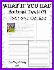 animal fact and opinion worksheets 13997 quot what if you had animal teeth quot book worksheet on fact and opinion opinion writing fact