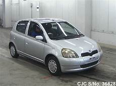 toyota yaris 2000 2000 toyota vitz silver for sale stock no 36828 japanese used cars exporter