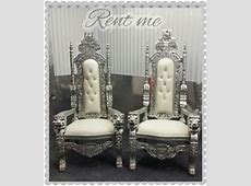 king & queen chair   Popular bride and groom chair, king
