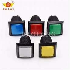 33x33mm Square Push Button Arcade by 33mm Square Machine Push Button Arcade Led Momentary