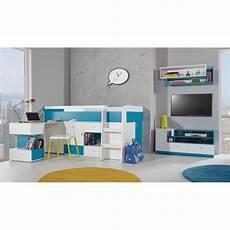 letto soppalco con scrivania letto a soppalco con scrivania mobby 200x90 cm