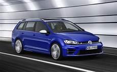Volkswagen Golf R Variant Wagon Revealed Performancedrive