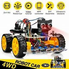 4x4 Robot Kit Voiture Tracking Wifi Bluetooth Ios Android