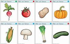 bilder obst und gemüse zum ausdrucken vokabelkarten obst und gemuese zaubereinmaleins