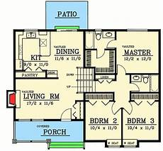 nhe house plans plan 75018dd split level with optional finished lower