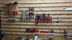 Garage Bauen aufbau einer cleat wand bauanleitung zum selber