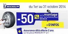 Promo Sur Les Pneus 50 Sur Le Montage De Pneus Michelin Jusqu Au 31 Octobre