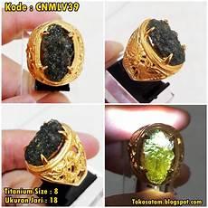 jual satam batu meteor batu satam jual cincin satam hijau cincin meteor batu moldavite