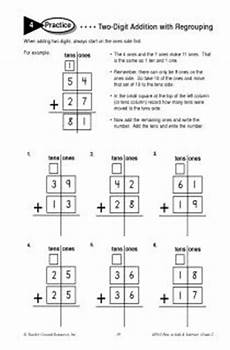 beginning addition with regrouping worksheets 9694 two digit addition with regrouping worksheet practice inspiration 1st grade math 1st grade
