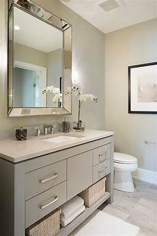 Bathroom Ideas Gray Vanity by Sherwin Williams Sw 7673 Pewter Cast Grey Vanity Paint