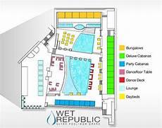 republic pool floor plan map republic mgm grand resort las vegas pinterest
