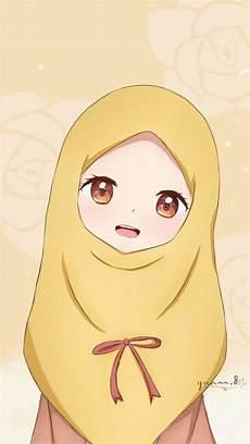 Gambar Anime Lucu Dan Cantik Berhijab Gambar Viral Hd