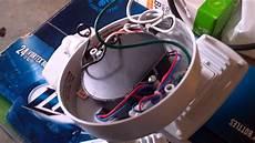 utilitech pro motion sensor light install from lowes youtube