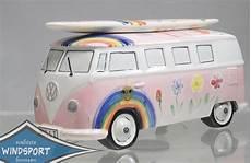 vw surf bulli t1 spardose hippie rosa lizensiert vw