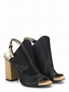 fiori shoes high sandal nero nudo fiori francesi shoes