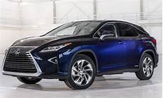 2019 lexus rx 450h luxury hybrid suv colors release date