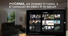my canal replay t 233 l 233 les services restreints via quot my canal quot forumfai