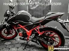 Cb150r Modif by Honda Cb150r Modif Buntut Cbr250rr